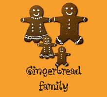 gingerbread family Unisex T-Shirt