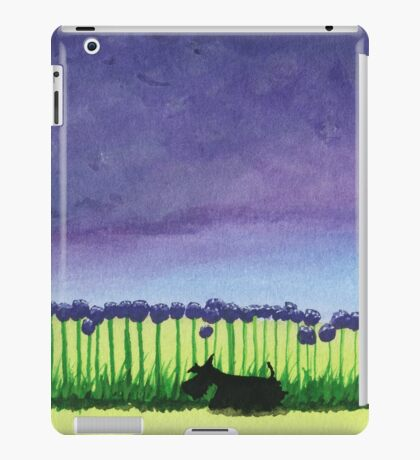 Scottie Dog 'Giant Allium' iPad Case/Skin