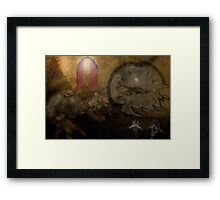 Time travellers I have known... Framed Print