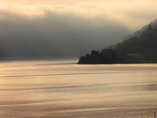 Winter Fog on Loch Ness by jacqi