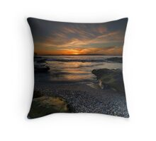 Catch the Rays - La Perouse, NSW Throw Pillow