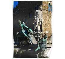 Neptune Statue, Florence Poster