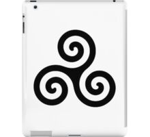 triple spiral / triskele iPad Case/Skin
