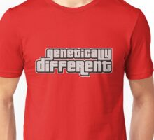 GENETICALLY DIFFERENT Unisex T-Shirt