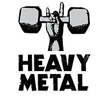Heavy Metal Lifting Photographic Print