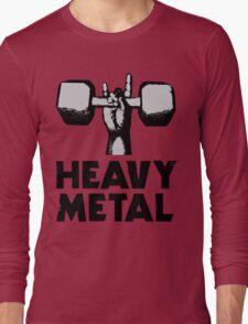 Heavy Metal Lifting Long Sleeve T-Shirt