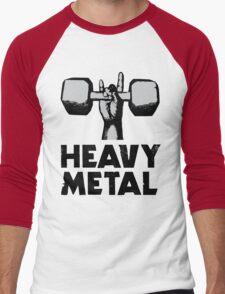 Heavy Metal Lifting Men's Baseball ¾ T-Shirt