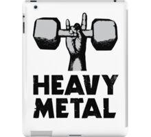 Heavy Metal Lifting iPad Case/Skin