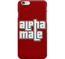 ALPHA MALE iPhone Case/Skin