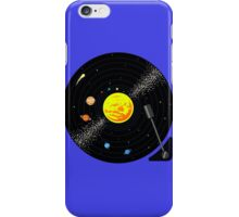 Solar System Vinyl Record iPhone Case/Skin