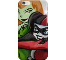 Harley Quinn & Poison Ivy - BFF! iPhone Case/Skin