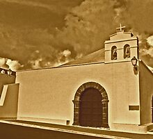 Church, Femes, Lanzarote by Andy Duffus