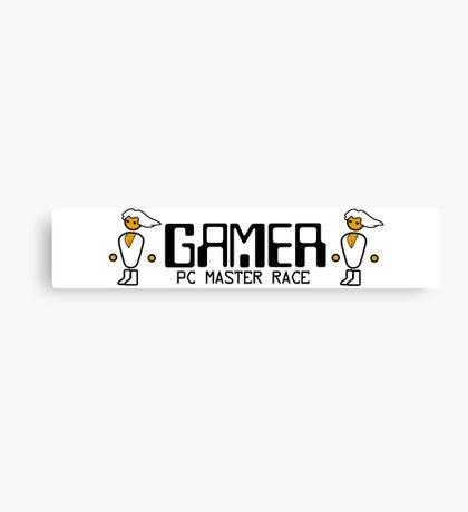 PCMR - Gamer Canvas Print