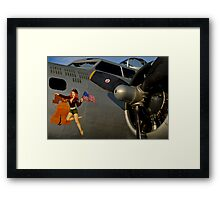 Liberty Belle Framed Print