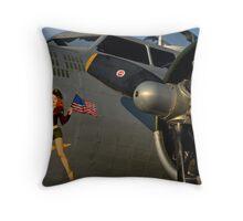 Liberty Belle Throw Pillow