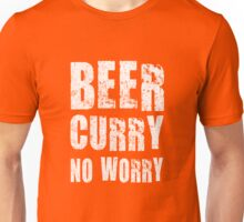 BEER CURRY NO WORRY Unisex T-Shirt