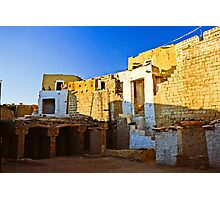 Inside the fort of Jaisalmer Photographic Print