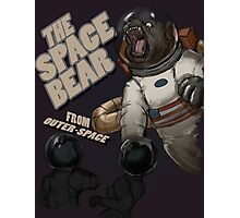 THE SPACE BEAR; from outer-space Photographic Print
