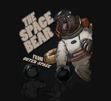 THE SPACE BEAR; from outer-space Long Sleeve T-Shirt