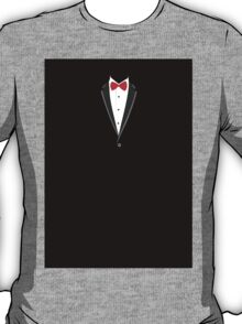 Tuxedo vector background T-Shirt