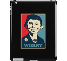 WHAT ME WORRY iPad Case/Skin