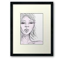 quick sketch Framed Print
