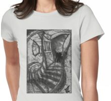 Attic tee Womens Fitted T-Shirt