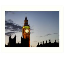 London, Big Ben Art Print