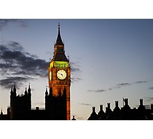 London, Big Ben Photographic Print