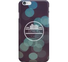 Berlin is best bubble artwork iPhone Case/Skin