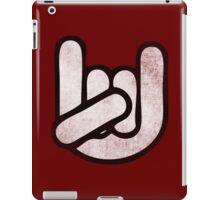 Heavy Metal Dude. iPad Case/Skin