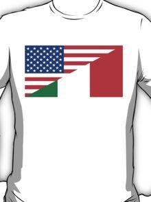 usa italy T-Shirt
