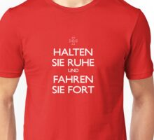 KEEP CALM IN GERMAN Unisex T-Shirt