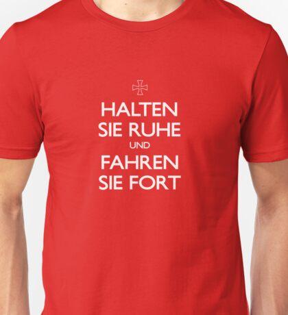KEEP CALM IN GERMAN Unisex T-Shirt
