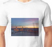 Sunset Over London - A Bird View Unisex T-Shirt