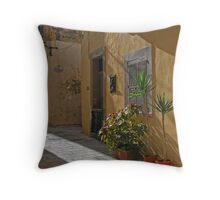 Backstreet Throw Pillow