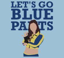 Let's Go Blue Pants T-Shirt