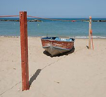 Boat on Beach  by jojobob