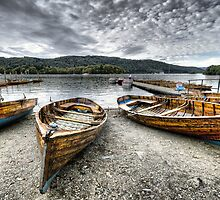 Lake Windermere Boats by Paul Thompson Photography