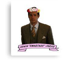 "Edwin ""Smartass"" Jarivs Canvas Print"