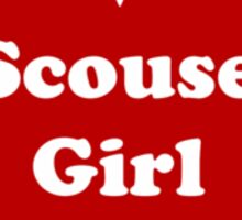 Scouse Girl Sticker
