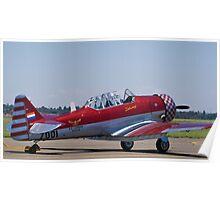 """North American AT-6 Harvard — SAAF 7001 — """"Inkwazi"""" Poster"""