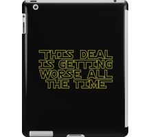 THIS DEAL iPad Case/Skin