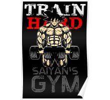 Train Hard Poster