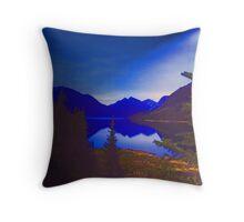 Twilight Valley Throw Pillow