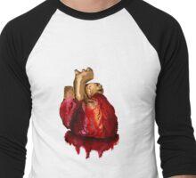 Heart2 0 Men's Baseball ¾ T-Shirt