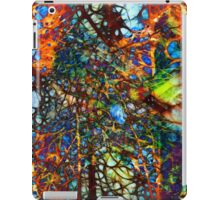 ABSTRACT COLORED WEB iPad Case/Skin