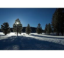 Between Points, Bryce Canyon National Park Photographic Print