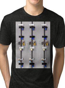18  locks Tri-blend T-Shirt