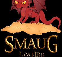 Smaug The Dragon by KhemyklShark